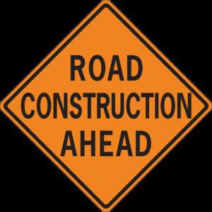 Road clipart road construction Vector  Construction art Road