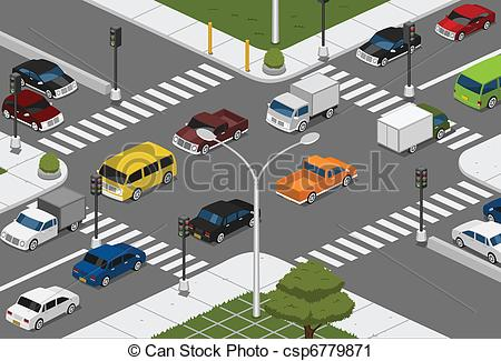 Way clipart car road #10