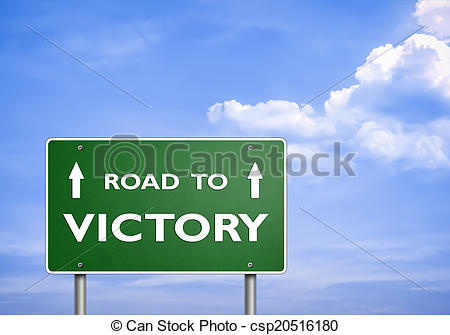 Road clipart victory #14