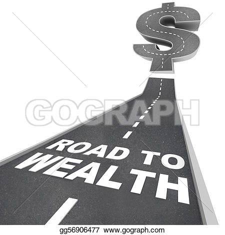 Road clipart wealth #3
