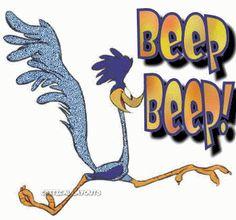 Roadrunner clipart beep beep #1
