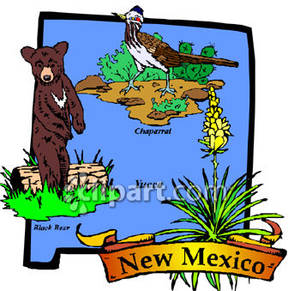 Black Bear clipart new mexico state New State New of of