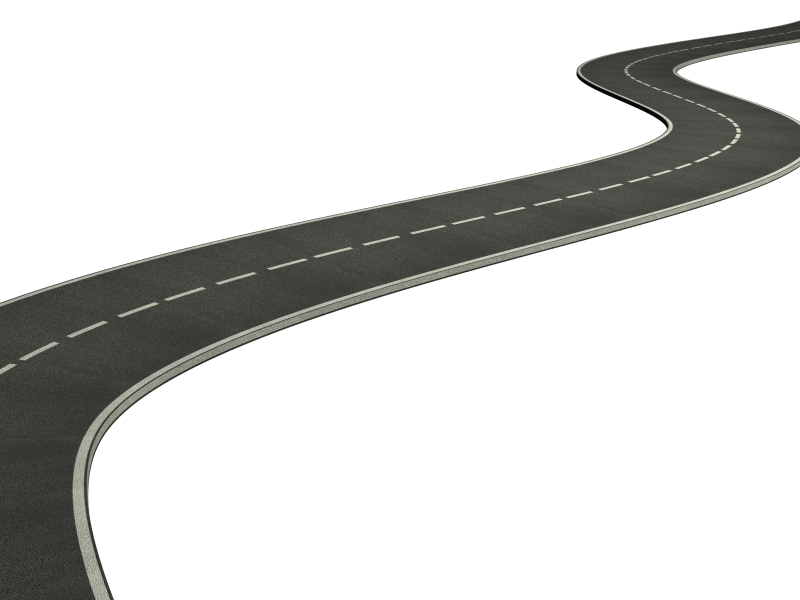Roadway clipart race track road Roadway on Clipart Road Free