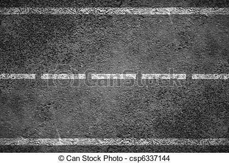 Asphalt clipart roadway White of csp6337144  Asphalt