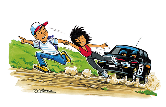 Roadway clipart car rally Motor children Club fully responsible