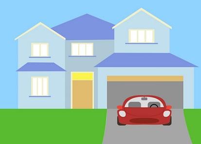 Hosue clipart driveway #1