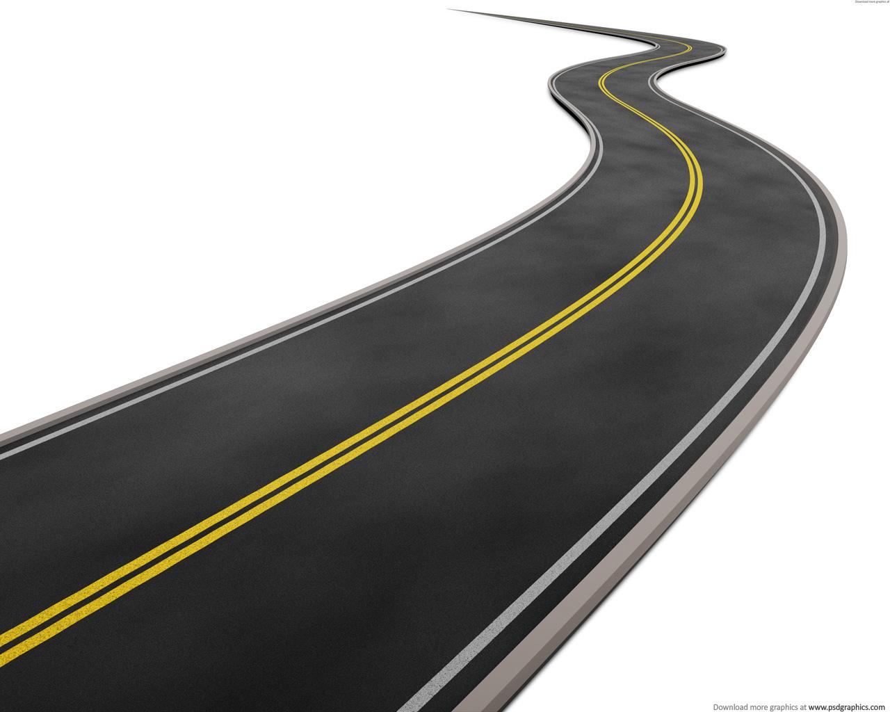Asphalt clipart roadway  Collection clipart Route _straight