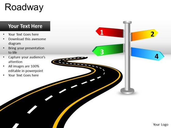 Road clipart powerpoint #1