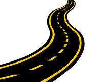 Road clipart wavy #1