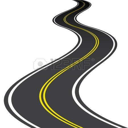 Highway clipart windy road Winding Terms Side Road Clipart