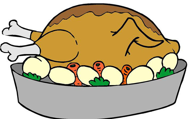 Steak clipart entree  Resolution Roast 641x400 Clipart