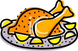 Roast clipart chiken Lemon Lemon Roast Art Chicken