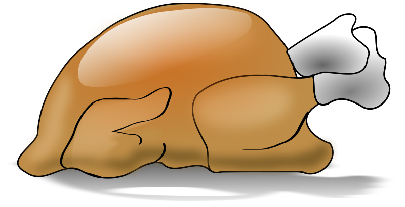 Roast clipart chiken Chicken Drawing Roast