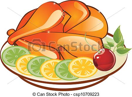 Roast clipart chiken  in of chicken chicken