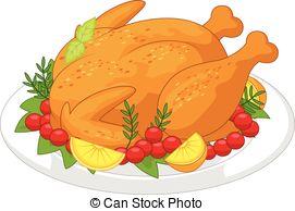 Roast clipart diner Diner vector  Art Turkey