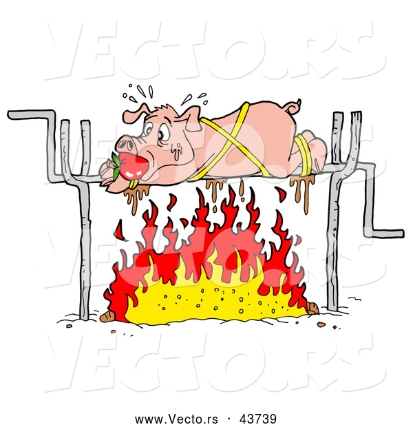 Roast clipart pig bbq Clipart Collection free Clipart roast