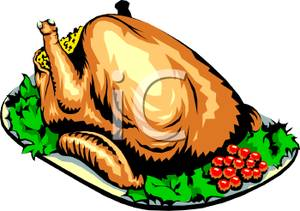 Roast clipart roast chicken #1