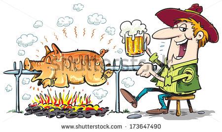 Roast clipart roast pork #8