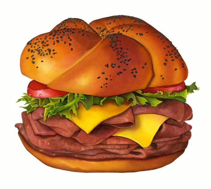 Sandwich clipart fancy food On SandwichesFood sandwich Roast ClipartFood