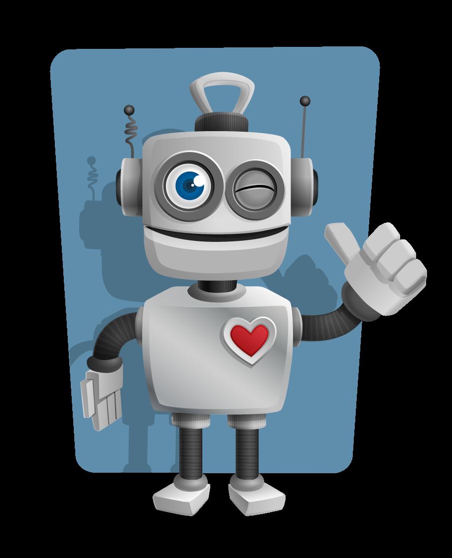 Robot clipart Clip clip book sign art