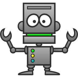 Robot clipart 1 #13380 clipart page of