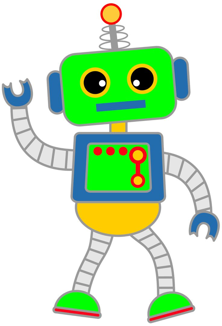 Robot clipart vintage toy Panda Robot Free Clip Free