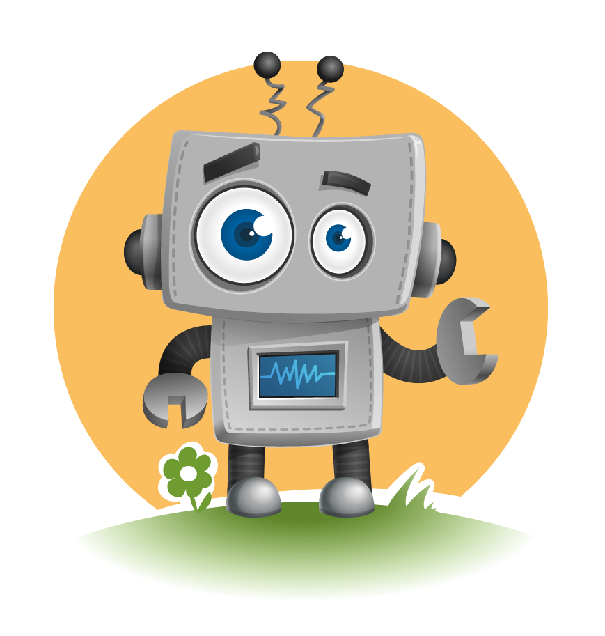 Robot clipart tired & Art Robot Use to