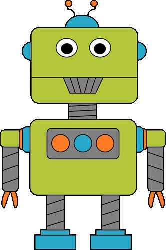 Robot clipart For August/September Robot Letter R