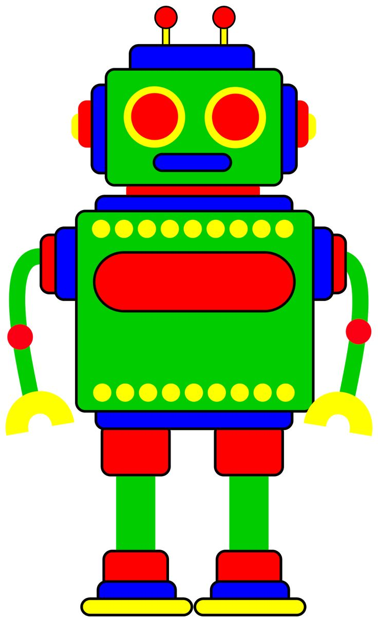 Robot clipart tired 188 on robot Clipart Robot