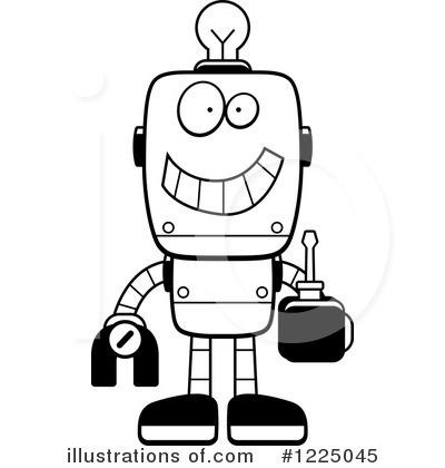 Robot clipart black and white Images Robot Image Black Black