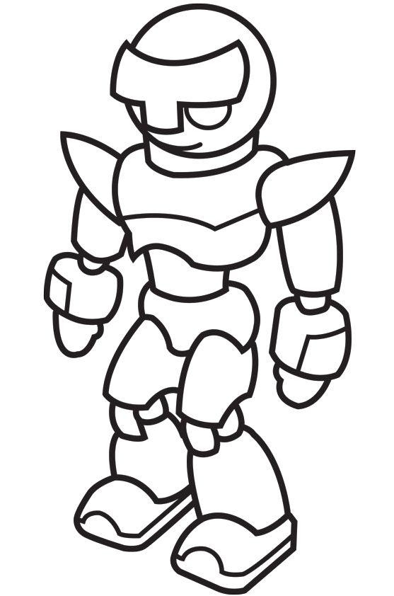 Robot clipart black and white Download Clipart Clipart Free And