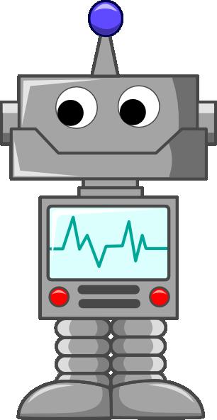 Traffic clipart robot Robot Robot Art domain art