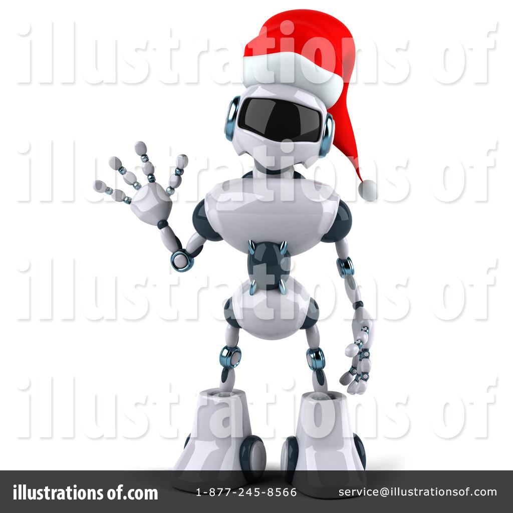 Robot clipart christmas Julos #435563 Robot Christmas Illustration