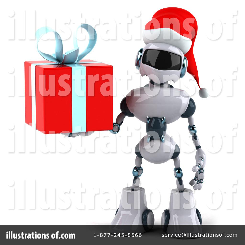 Robot clipart christmas Julos #435562 Robot Christmas Illustration