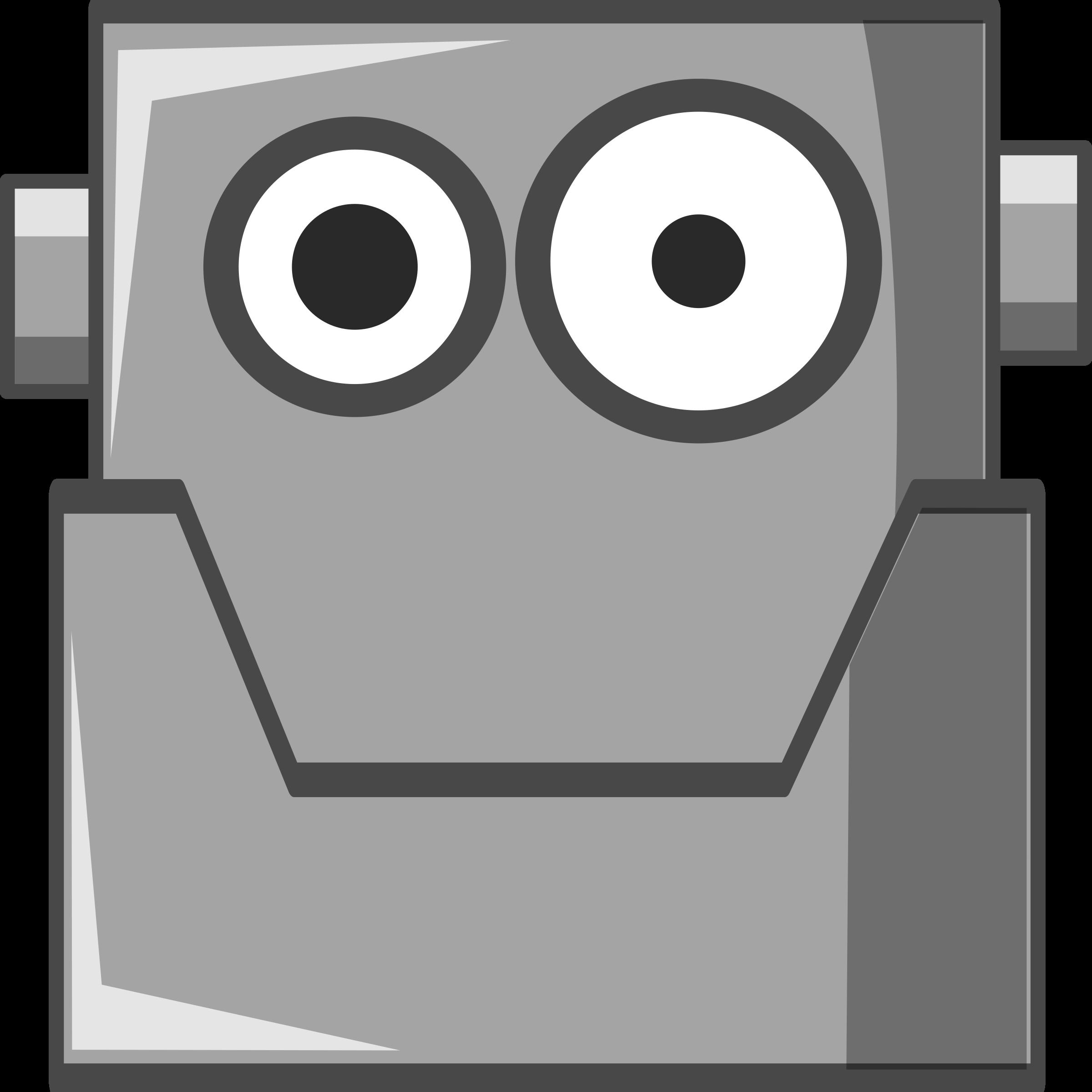 Robot clipart comic Robot Head Cute Head Robot