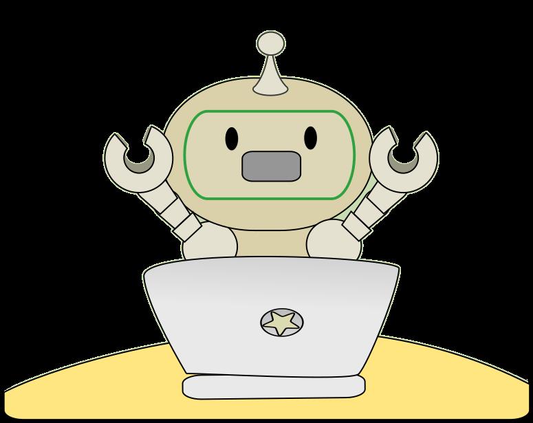 Robot clipart comic Clip art a upset Fantasy