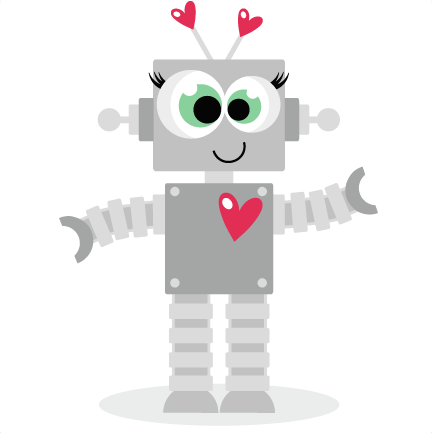 Robot clipart female #2