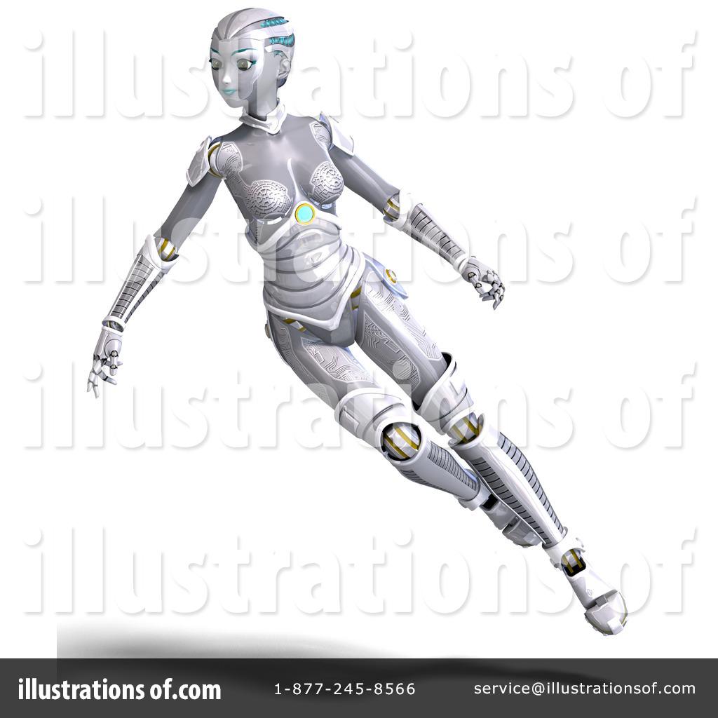 Robot clipart female #14
