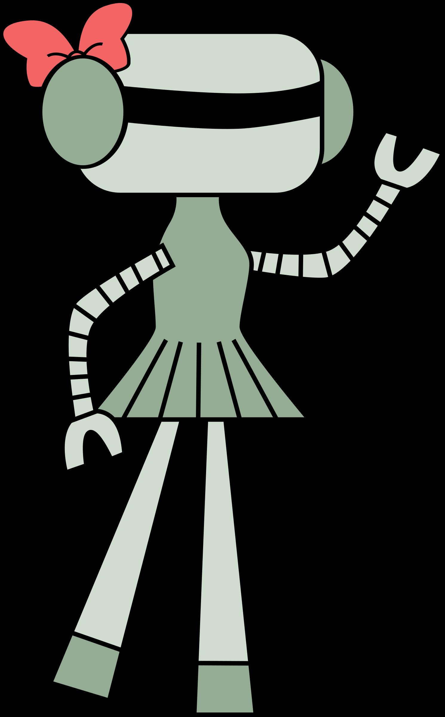 Robot clipart female #6