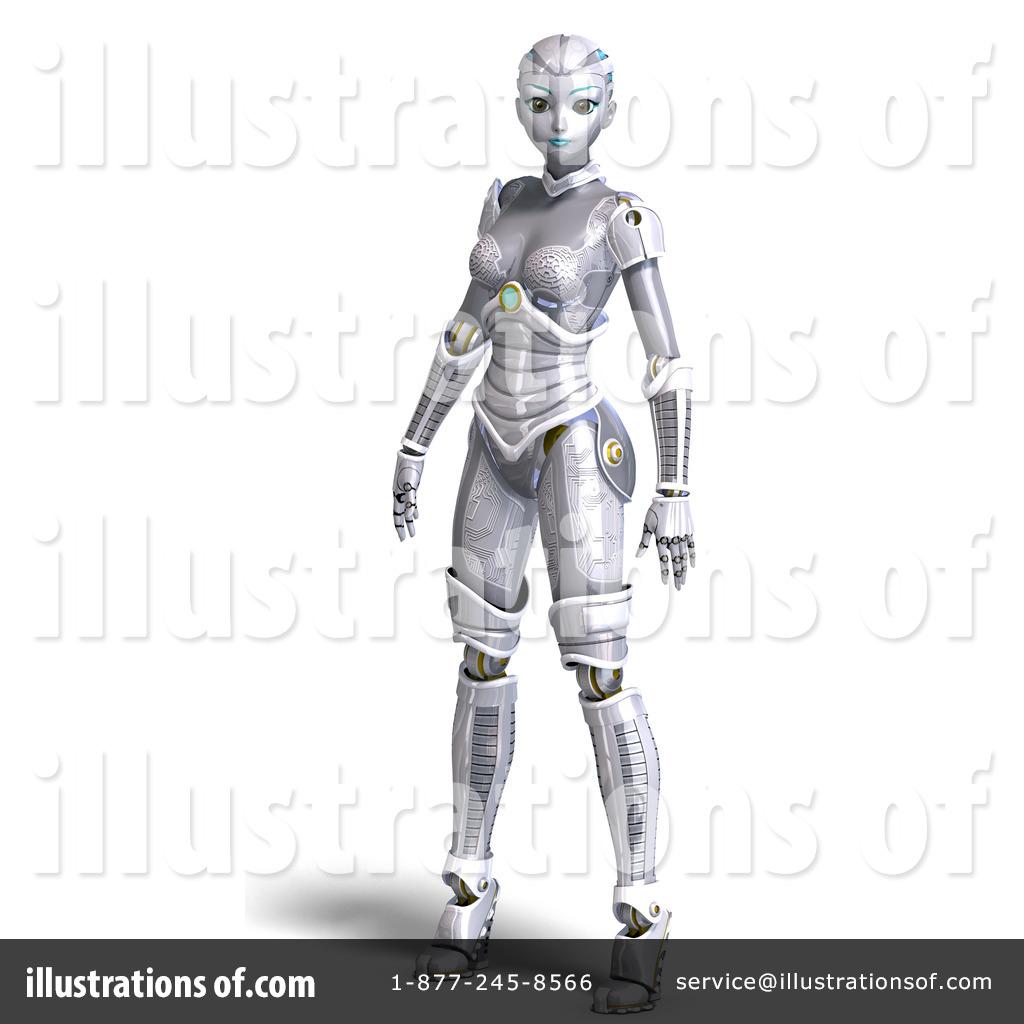 Robot clipart female #12