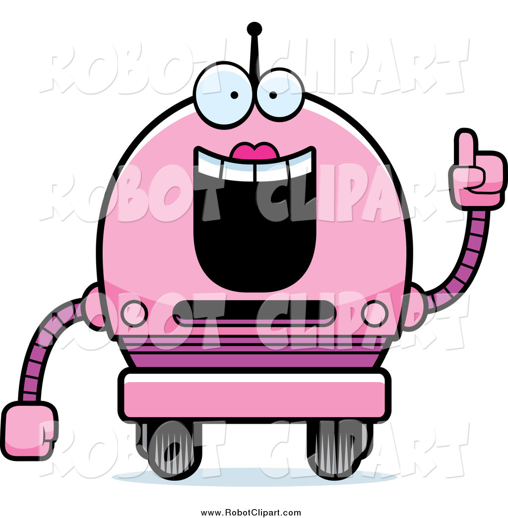 Robot clipart female #5