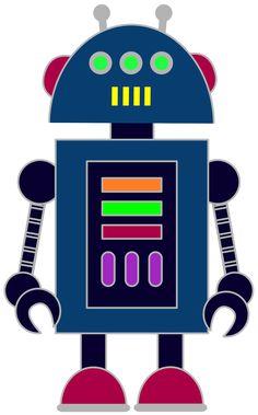 Robot clipart four Robot classrooms August/September Free parents