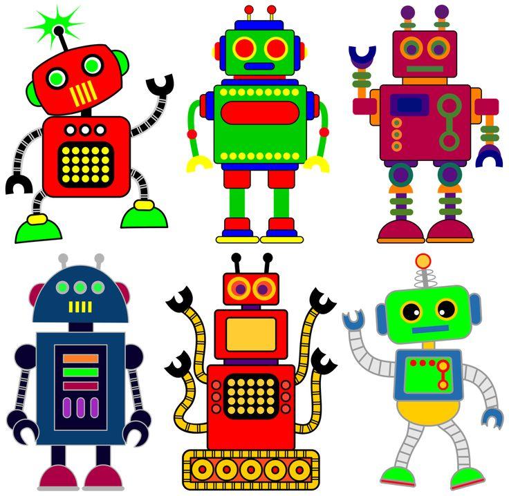 Robot clipart four Ideas Robot clipart Best or
