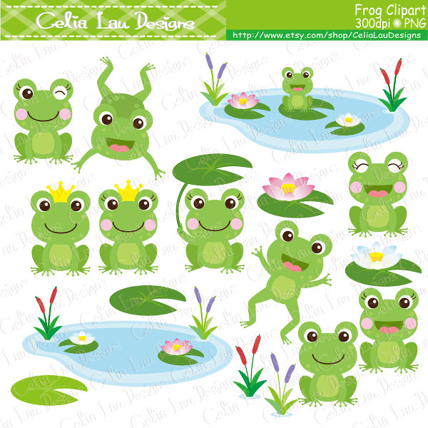 Wedding clipart frog Etsy Frog cat frogs Frog