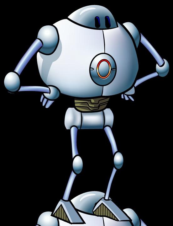 Robot clipart generic #9