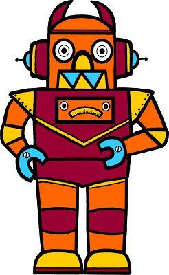 Robot clipart generic #12
