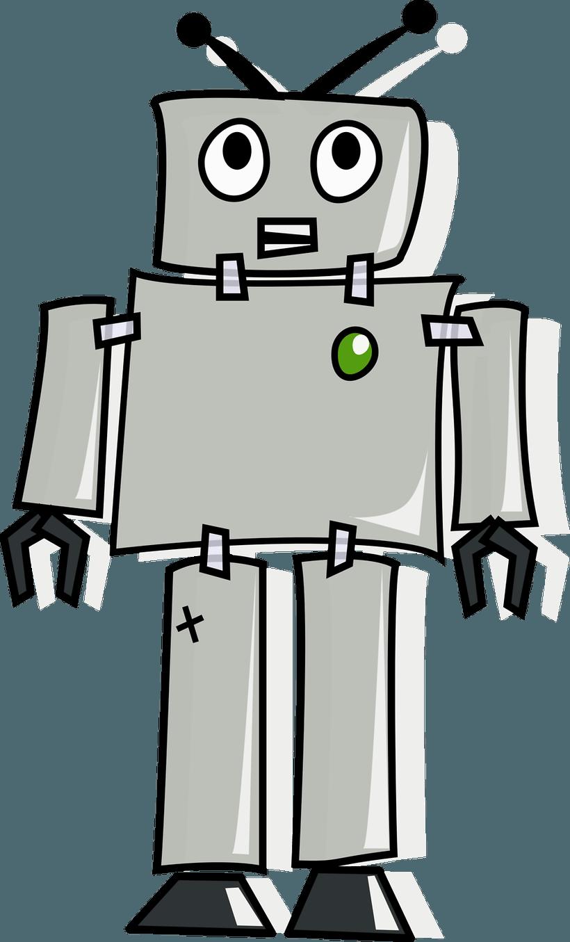 Robot clipart generic #15