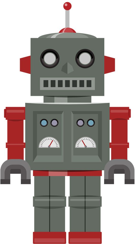 Robot clipart gray About * on 370 MONSTER