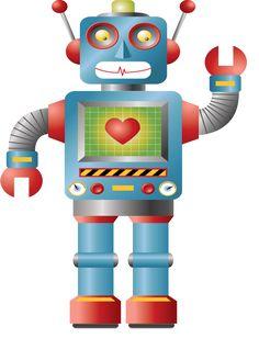 Robot clipart green Invitation  Clipart Graphic Clip