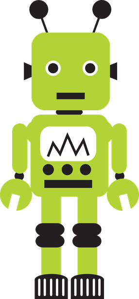 Robot clipart green More for Robô ideas SVGs
